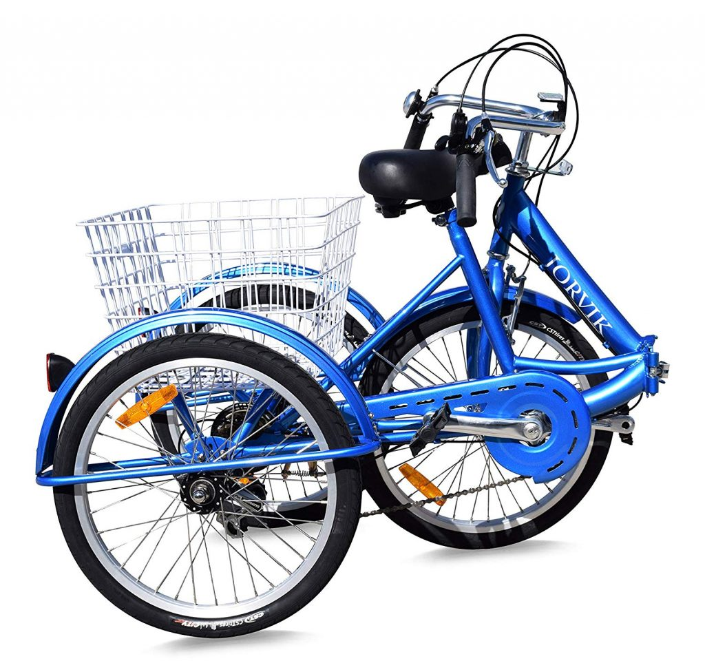 Tricycle adulte pliable